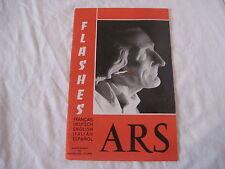 Livret Flashes ARS de 1965 Supplément aux annales d'Ars