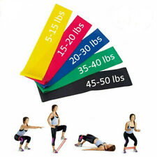 Resistance Bands - Exercise & Fitness Latex Loop Set for Home Gym & Yoga