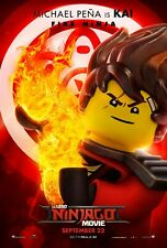 NINJAGO lego 22 Movie Poster Canvas Picture Art Print Premium Quality