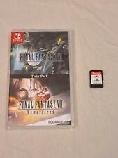 Final Fantasy VII/Final Fantasy VIII Remastered (Nintendo Switch, 2019) - Tested