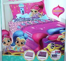 SHIMMER AND SHINE MICROFIBER 3 PIECE TWIN BED SHEET SET GIRLS BEDSHEET