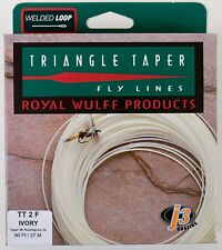 Royal Wulff Triangle Taper 2 WT Floating Fly Line Ivory Free Fast Shipping TT2F