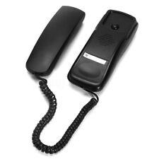 Corded Telephone Home Office Desk Wall Mount Landline Wired Handset Phone Black