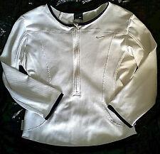 Nike Sphere Dry Long Sleeve Women's Long Sleeve Athletic Top shirt White S