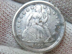 1841 O Silver Seated Dime