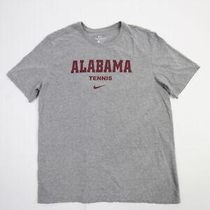 Alabama Crimson Tide Nike Nike Tee Short Sleeve Shirt Men's Gray Used