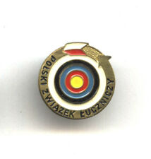 pin Polish Archery Federation pin / abdge model 2 - diameter 18 mm