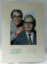TWO RONNIES SIGNED COA RONNIE BARKER SIGNED RONNIE CORBETT SIGNED  AFTAL #199
