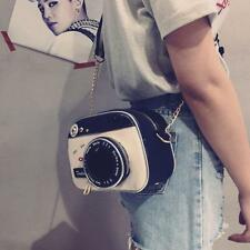 Mini Zipper Lady Bag Camera Shape Single Strap Casual Cross Body Women handbag L