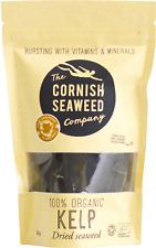 Dried Organic Kelp Seaweed Kombu - Hand-harvested in Cornwall