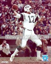 New York Jets- Joe Namath -Fires Downfield