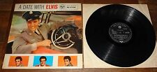 ELVIS PRESLEY ~ A DATE WITH ELVIS ~ UK RCA VICTOR SILVER SPOT LP 1959