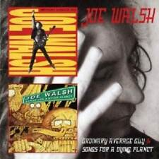 JOE WALSH - ORDINARY AVERAGE GUY/SONGS FOR A DYING PLANET  2 CD  ROCK & POP NEW+