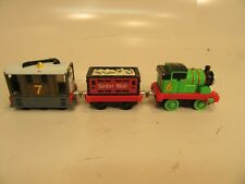 Thomas The Train Series Die Cast Toby #6 Sodor Mail Car and Toby #7