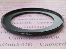 72mm to 95mm Male-Female Stepping Step Up Filter Ring Adapter