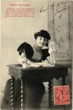 CPA Lettre de femme. A. BERGERET (674827)