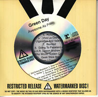 GREEN DAY Awesome As F**k UK 17-tk numbered/watermarked promo test CD sealed