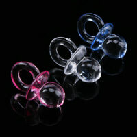 50x Baby Shower Christening Favors Mini Pacifiers Girl Boy Party Home Decoration
