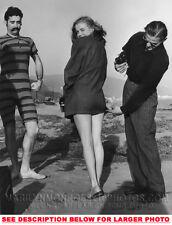MARILYN MONROE 16 Year Old Beach Shoot 1x8x10 PHOTO
