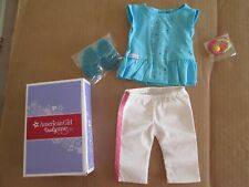 "Authentic 18"" AMERICAN GIRL DOLL RAINBOW SPRING OUTFIT CLOTHES NEW Jess Molly"