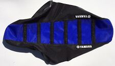 New Yamaha Blue & Black Ribbed Seat Cover TTR125 2000-07