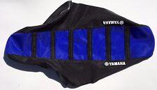 New Yamaha Black & Blue Ribbed Seat Cover YZ125 YZ250 2002-2016