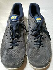 Details about Nike Mens Flex Run 2013 GrayGreen Sz 10.5 Athletic Running Shoes 579821 011