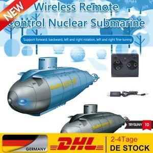 2.4G Elektrisches U-Boot Boot 6 Kanal Mini Wireless Fernbedienung Tauchmodell