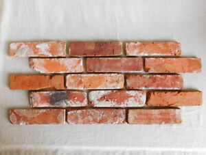 Ziegel verblender Retro Wand alte Ziegel Verblendsteine Kamin Verkleidung