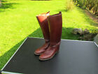 Boots D Warrant Officer US Brown Leather Red WW1 Original WW2 US Army Usmc
