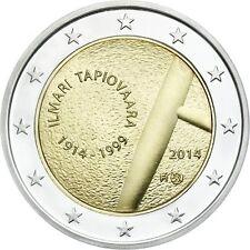 2 euro Finlande 2014 Ilmari Tapiovaara !