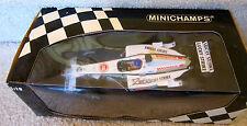 F1 Formula1 JACQUES VILLENEUVE AUTOGRAPHED #10 LUCKY STRIKE BAR HONDA MINICHAMPS