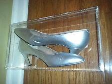 Rangoni Ladies Shoes ~Exquisite, Leather, Silver, Prettiest of Pretty Steps