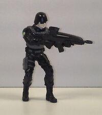 "3.25"" Special S.W.A.T. Black Ops Soldier PVC Plastic Action Figure"