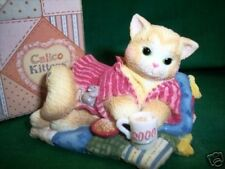 Calico Kittens Creature Comforts Dtd 2000 # 720755 Nib * Free Usa Shippng