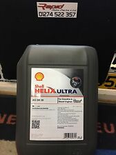Shell HELIX AG 5w-30 C3 Fully Synthetic Car Engine Oil 20L Dexos 2 ACEA C3  NEW