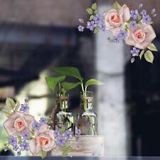 Pared Adhesivo Calcomanía Flor Rama de Árbol Decoración De Casa Flor Árbol Arte HD