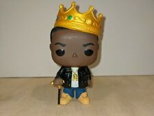 Notorious B.I.G. with Crown Funko Pop Rocks Vinyl Figure #77 Big
