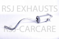EXHAUST SILENCER RENAULT MEGANE II Coupé-Cabriolet 1.6 2003-09-> 2009-03