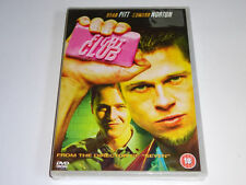 Fight Club - Brad Pitt, Edward Norton - GENUINE UK (Region 2) DVD