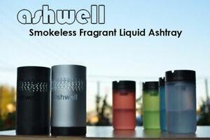Ashwell Portable Smokeless Fragrant Liquid Ashtray