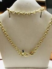 2.90 Grams 14K  Yellow Gold ROLO Necklace Chain  24 Inch Brand new