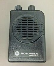 Motorola Minitor 5 Pager Only, Model # A03Kms9239Bc, Vhf, 2 Ch, Sv, Ex Cond.Prog