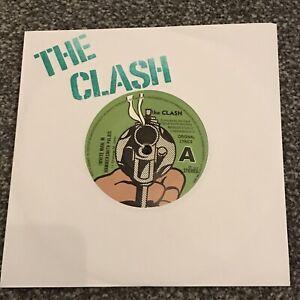 THE CLASH - ( WHITE MAN ) IN HAMMERSMITH PALAIS - WHITE WAX - Diff Mix / Lyrics