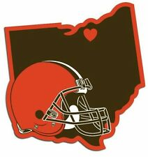 Cleveland Browns Home State Vinyl Decals Football NEW!
