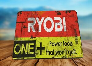 Ryobi Tool oil can  Advert Mouse Mat Mouse Pad Gift Idea! Mechanic Cars