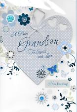 Isabels Garden, un bambino nipote alterare carta, 3d fatti a mano, Blu, Qualità TOP (j1)