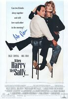 Rob Reiner Hand Signed 12x18 When Harry Met Sally Authentic Autograph JSA COA