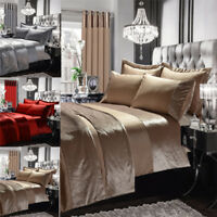 Duvet cover sets pillowcases double super king single bedspread curtain bedding