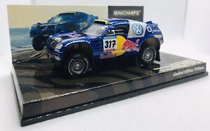 Minichamps 1/43 Volkswagen Touareg Dakar 2005 R. Gordon 436055317